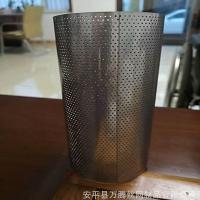 冲孔网滤筒 过滤网筒 筛板网 滤芯滤网 圆孔网过滤管