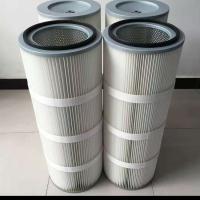 聚酯纤维无纺布工业粉尘滤芯滤筒35100除尘滤芯涂装线滤筒