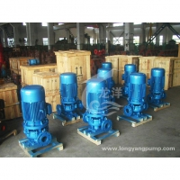 IRG单级单吸热水管道泵型号