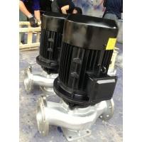 IHG不锈钢耐腐蚀立式化工管道泵厂家