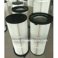 覆膜长纤维滤筒&覆膜长纤维滤筒可订做(世文)