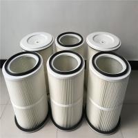 喷涂喷塑喷砂机用除尘滤芯-覆膜防静电除尘滤芯