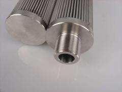 液压油滤芯特雷克斯工程车专用高效玻纤滤芯15232631