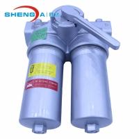 SDFLND双筒低压铸铝 防腐蚀管路过滤器