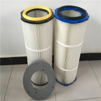 耐高温除尘滤芯 - 耐高温除尘滤筒 - 厂家批发源头