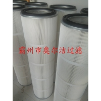 厂家直销抛丸机滤芯350*660-奥尔洁产业