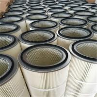 覆膜可水洗滤筒 - 除尘滤芯厂家