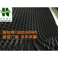 沈阳2公分排水板+长春地下室HDPE排水板