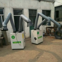 工业焊烟焊机 除尘净化器的工作原理 单机布袋除尘净化器