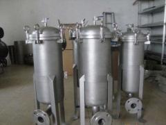 袋式过滤机的应用及工作原理