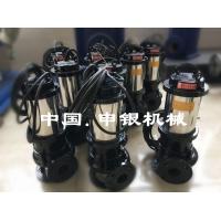 WQP不锈钢潜水排污泵 申银耐腐蚀潜水泵厂家