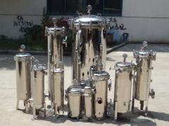 袋式过滤器排放剩液的操作步骤