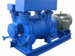 水环式真空泵的性能和结构