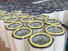 除尘器中除尘滤筒的安装方式