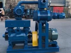 JZJW罗茨-往复泵机组系列的工作原理