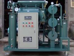 绝缘油滤油机再生型变压器油滤油机特点