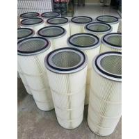 表面喷涂规格 1米高抗静电除尘滤筒