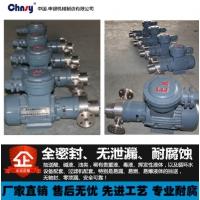 WCFB微型磁力齿轮泵 无泄漏耐腐蚀磁力化工泵(防爆)