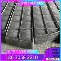 脱硫塔钢丝网除沫器石化设备水汽分离不锈钢丝网除雾器