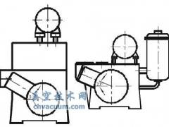 滑阀真空泵的整体结构和主要零部件的结构