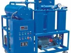 透平油专用真空滤油机简述