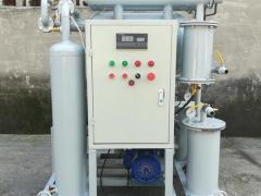 真空滤油机的油液净化过程