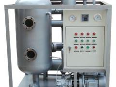 真空滤油机的油液净化阶段
