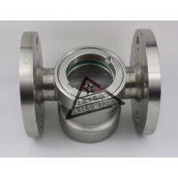 新国标法兰水视镜,叶轮指示器,流量观察器