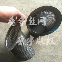 马蹄形篮式滤筒