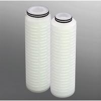 正品PES滤芯_聚醚砜PES折叠膜微孔滤芯_水滤芯
