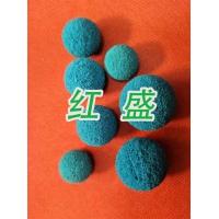 红盛胶球报价-凝汽器胶球在线清洗专用胶球报价