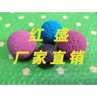 厂家直销胶球-剥皮胶球-海绵胶球-红盛厂家可定制