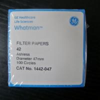 whatman Grade42无灰级定量滤纸1442-047