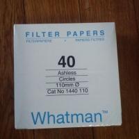 沃特曼40号定量无灰滤纸Grade40 1440-110