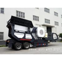 移动磕石子机器驰骋沙石场助力用户生产ZXW81