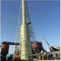 玻璃钢脱硫塔,宁杰玻璃钢喷淋塔锅炉水膜除尘器规格型号