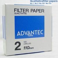 NO.2 东洋Advantec2号定性滤纸