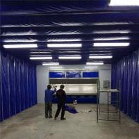 环保多功能移动伸缩喷漆房生产厂家
