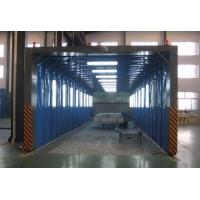 大型移动伸缩喷漆房高效又环保