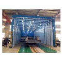 移动伸缩喷漆房20米x10米x4.5米设计方案及报价