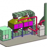 催化燃烧设备的燃烧过程和催化剂的使用 定制各种风量