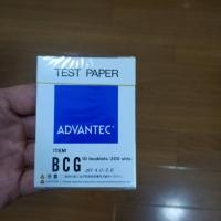 BCG Advantec pH试纸酸碱试纸pH4.0-5.6