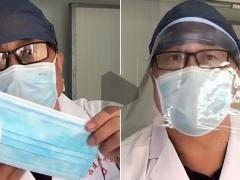 专家教你自制防护面罩 一招让普通口罩有N95效果