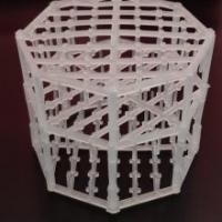 聚丙烯Q-帕克填料 聚丙烯筛网填料 球派克八角形填料