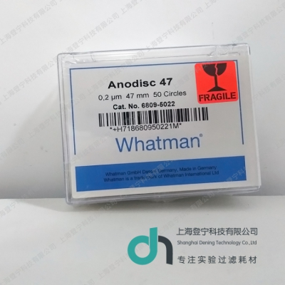 6809-5022 Whatman Anodisc氧化铝膜