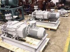 DP型无油螺杆真空泵的工作原理、主要特点及性能参数