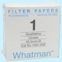 1001-020 whatman 1号定性滤纸 Grade1