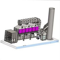 催化燃烧设备内部结构图及工艺原理详解