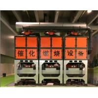 催化燃烧设备处理废气过程