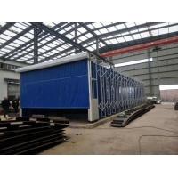 环保移动伸缩喷漆房6米以上配套方案价格